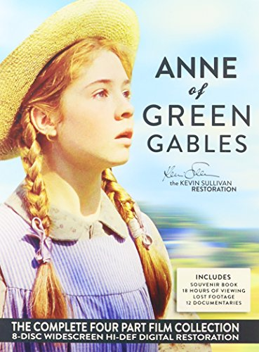 Anne Of Green Gables The Complete Four Part Collection