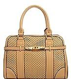 MyLux® Desinger Inspired Doctor Style Shoulder Handbag k512525L (k512525LTN)