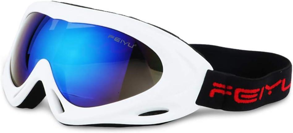 JW-YZWJ Anti-Niebla Gafas de esquí, Adultos niños al Aire ...