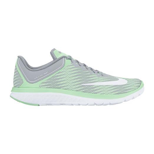 New Nike Women's FS Lite Run 4 Prem Running Shoe Grey/Fresh Mint Size 10 New Box