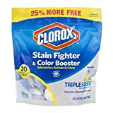 Clorox 2 Laundry Stain Remover and Color Booster 20ct 3-Pack