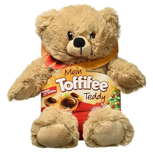 Toffifee Plüschtier Teddy mit 15er, 1er Pack (1 x 125g Packung)