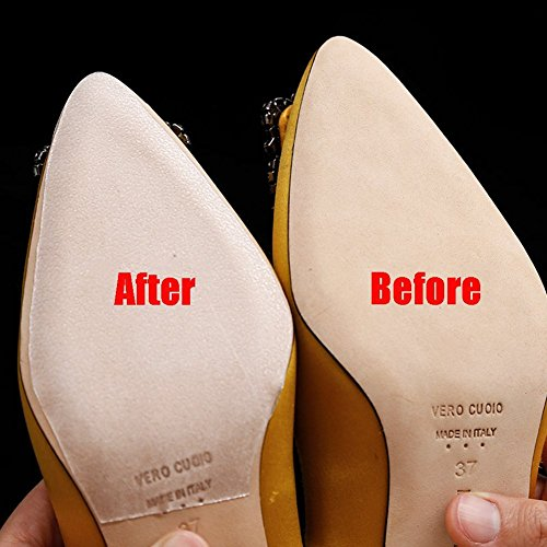 a4d8c7bae8a SEMSO Sole Sticker - Crystal Clear Sole Protector, Sole Protector for  Christian Louboutin Heels/Red Bottoms High Heels (Clear)