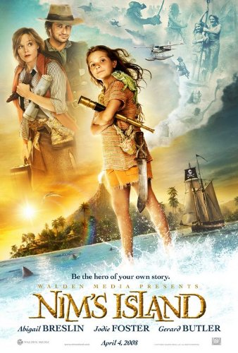 NIM'S ISLAND 27X40 ORIGINAL D/S MOVIE POSTER