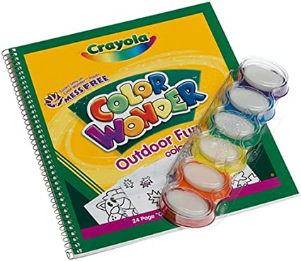 Amazon Com Crayola Color Wonder Fingerpaint And Coloring
