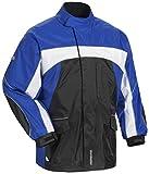 Tourmaster Elite 3 Rain Jacket (X-SMALL) (BLACK/BLUE/WHITE)