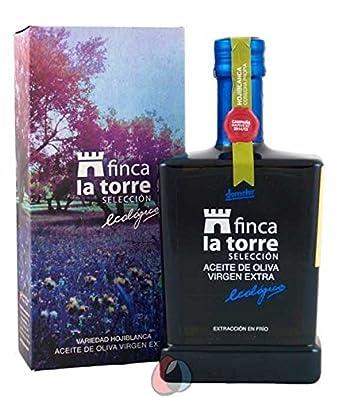Finca la Torre 500 ml - Aceite de oliva Hojiblanca ecológica por Oliva Oliva Internet SL