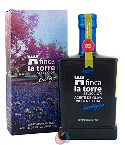 Finca La Torre Organic Hojiblanca - New Harvest 2016-17 Spanish Award Winning Extra Virgin Olive Oil 500 Milliliter (16.9 Ounce)