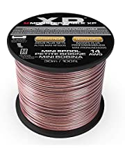 Monster XP - Bobina de cable de cobre para altavoz, 14 AWG, 100 pies