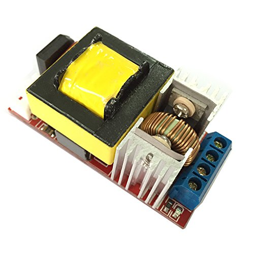 Qianson DC-DC 7.4V-16.8V to 75V-660V Battery Booster ZVS Capacitor Charger Controller High Voltage Power Module