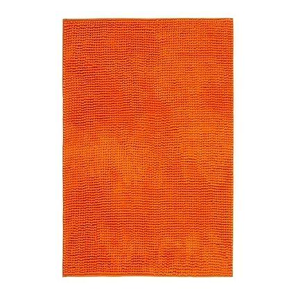 Ikea Toftbo Tapis De Bain Orange 60x90 Cm Amazon Fr Cuisine