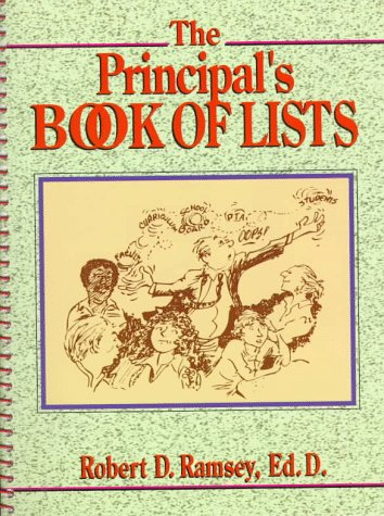 The Principal's Book of Lists (J-B Ed: Book of Lists)