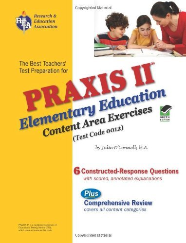 Download The best teachers' test preparation for the Praxis II, elementary education : content area exercises (test code 0012) Pdf