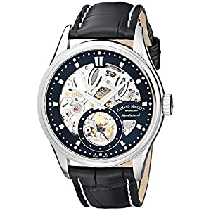 Armand Nicolet Men's 9620S-NR-P713NR2 LS8 Limited Edition Skeleton Hand-Wind Watch