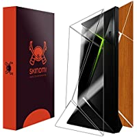 Skinomi TechSkin - NVIDIA Shield TV Light Wood Full Body Skin Protector / Front & Back Wrap / Premium HD Clear Film / Ultra Invisible and Anti-Bubble Crystal Shield