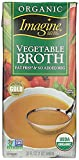Imagine Organic Vegetable Broth Gluten Free 32 Oz. Pack Of 3.