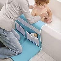 AQUATOPIA, arrodillador de seguridad para el baño fácil y reposo del codo desmontable, azul
