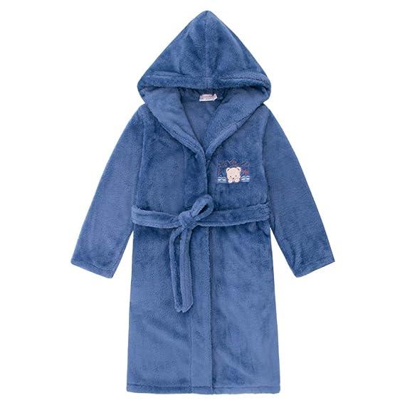 Meng Wei Shop Pijamas Dos Piezas Camisones para niños Batas de baño para niños Pijamas Gruesos otoño e Invierno Pijamas cálidos y cómodos para niños.