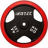 IROTEC(アイロテック) ラバープレート20KG / ダンベル・ベンチプレス・バーベルプレート