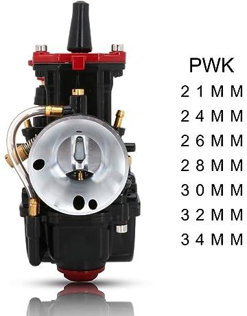 JFG RACING PWK Carburador para Motocicleta de 32 mm para Honda Yamaha Suzuki Kawasaki K.T.M 125 CC 150 CC 175 CC 200 CC ATV Dirt Bike Negro