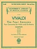 Antonio Vivaldi - The Four Seasons, Complete: for Violin and Piano Reduction