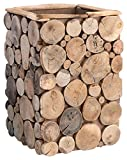 Boston International Decorative Driftwood Container, 11.5-Inch For Sale