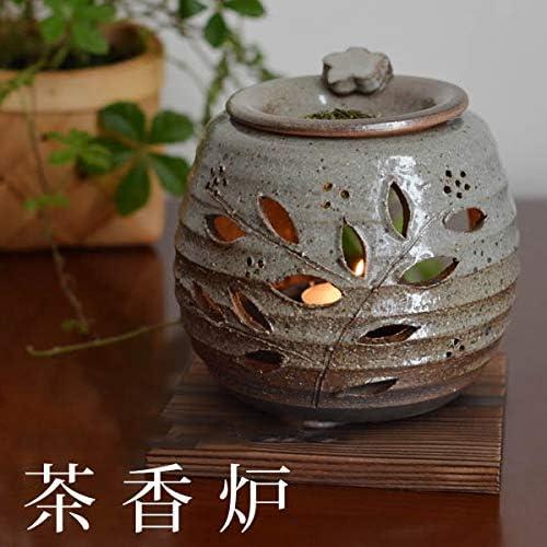 「常滑焼き」茶香炉 和食器 茶香炉は茶葉を加熱して発生する香りで心をリフレッシュさせてくれ、お部屋の消臭にも効果的です。