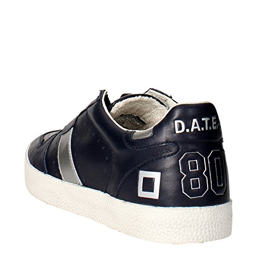 DATE COURT LEATHER BLUE SNEAKERS Harren Blau