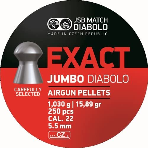 JSB Diabolo EXACT .22 Caliber Air Gun Pellets 250 ct.