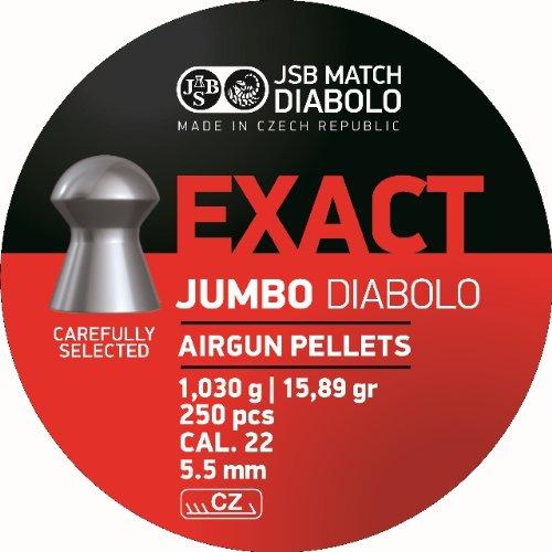 JSB Diabolo EXACT .22 Caliber Air Gun Pellets 250 ct.