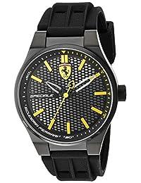 Ferrari Men's 830354 Analog Display Quartz Black Watch