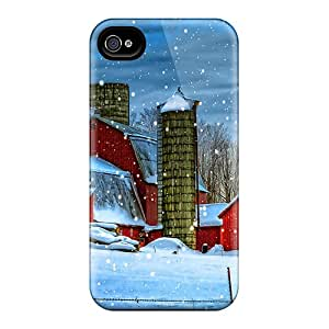 Hot Winter Cabins First Grade Phone Cases For Iphone 6plus Cases Covers
