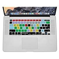 XSKN Ableton Live 9 Suite Funda de silicona para teclado de diseño de acceso directo para Macbook 13 15 17 pulgadas (diseño de EE. UU. Y la UE)