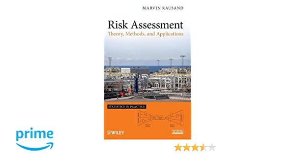 AmazonCom Risk Assessment Theory Methods And Applications