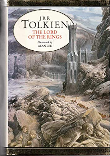 Tolkien Jrr Illustrated Lord Of Rings Hb 9780044406792 Amazon Com Books
