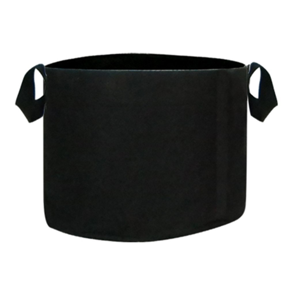 1000 Gallon Plant Grow Bag, Aeration Fabric Pot with Handles for Nursery, Garden and Outdoor, Eco Friendly Heavy Duty Seedlings Pot by DynaPot, Black