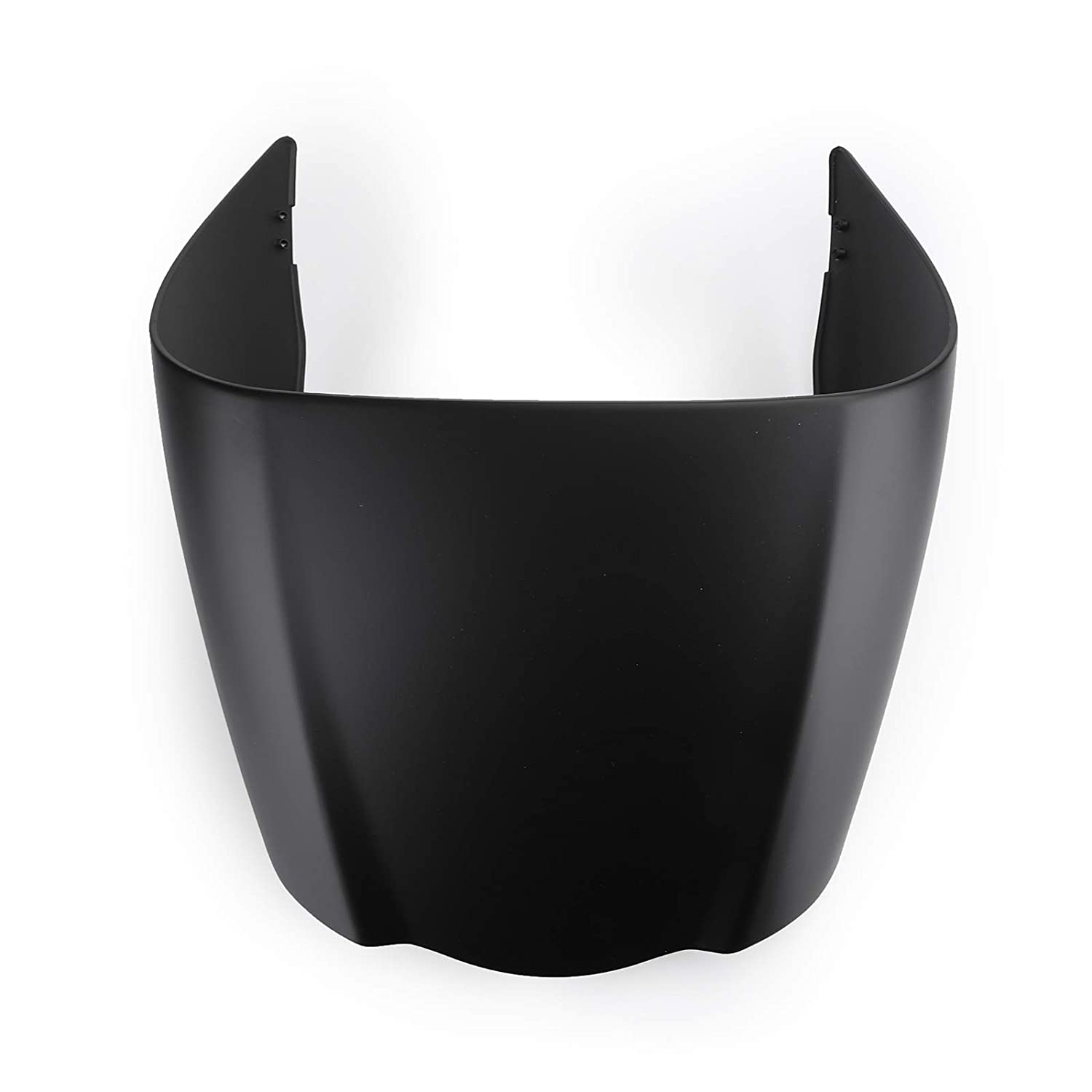 Topteng Rear Seat Cowl,Motorcycle Rear Passenger Pillion Solo Seat Cowl Hard ABS Pad Motor Fairing Tail Cover for A-PRILIA 2009-2016 RSV4