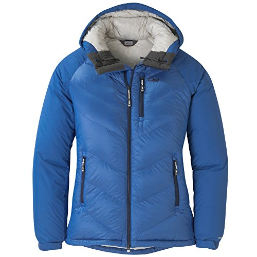 Outdoor Research Alpine Down Hooded Women's Jacket lapis M ()