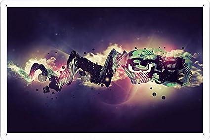 Amazon.com: Abstracto Sign – Glare Luz Burst Emoción Estilo ...