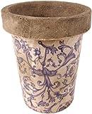 Esschert design ac89 Vaso da fiori, 13 x 13 x 16 cm