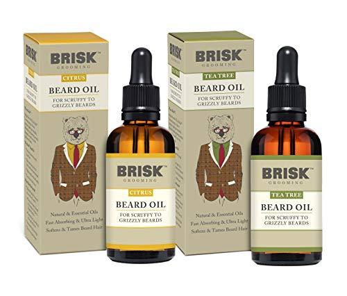 Brisk Grooming Citrus Beard Variety