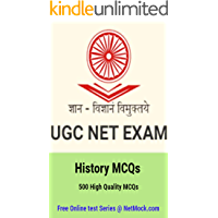 UGC NET JRF and SET (History MCQs): 500 Most Important History MCQs (1)