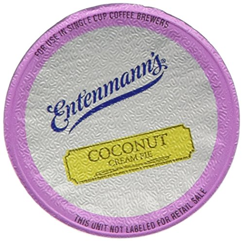 Entenmann's Coconut Cream Pie Coffee Single Serve Cups, 80 Count
