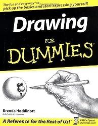 Drawing For Dummies by Hoddinott, Brenda [21 March 2003]