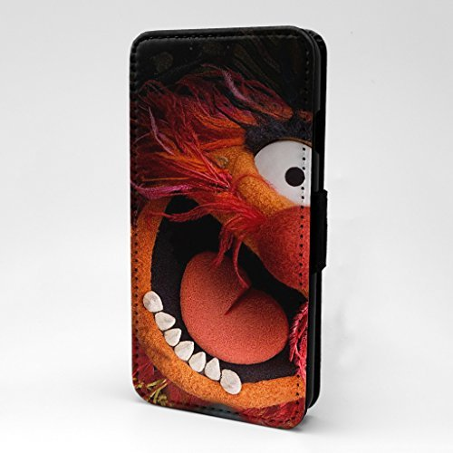 Muppet Show bedruckt Telefon Flip Case Cover für Apple iPhone 5 - 5 S - SE - Tier - s-t0056
