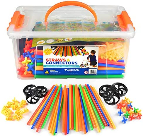 Playlearn Straws Builders Construction Building product image