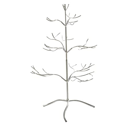 TRIPAR 15491 24 Inch Silver Color Metal Tree