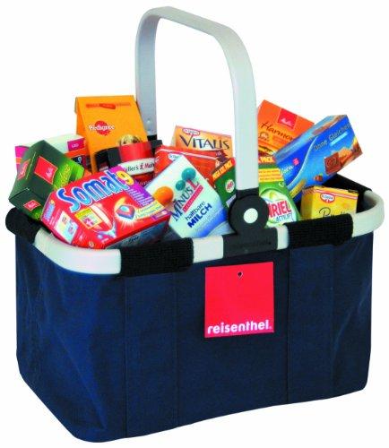 Tanner/ Reisenthel 4083.8 - Original Reisenthel Carry Bag, gefüllt hochwertigen Markenminiaturen, blau