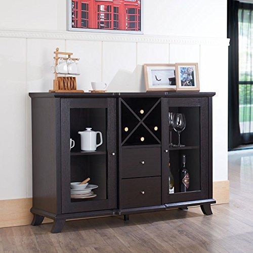 247SHOPATHOME Idi-13835 Sideboards, Espresso