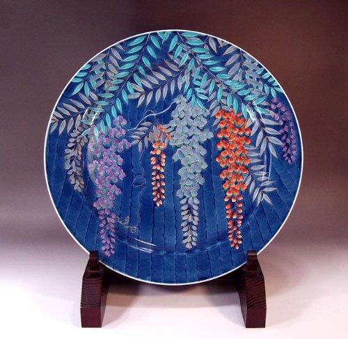 Arita - Imari | pottery ornaments Sarah Kazarisara - platter | gifts | Gifts | souvenir | gift | Fujie Fujii NishikiAya - Imari Large Platter